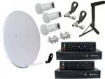 Спутниковая антенна на 2 независимых пользователя