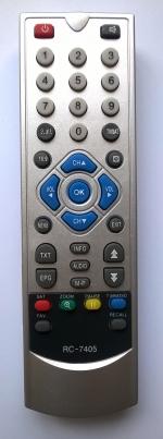 Пульт дистанционного управления для тюнера  CosmoSat 7400/ 7405/ 7410